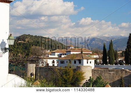 Albaicin district, Granada.