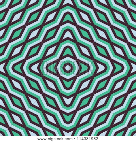 Abstract geometric minimalists seamless pattern in retro style
