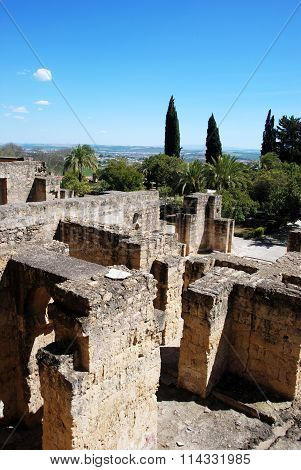 Guards quarters ruins, Medina Azahara.