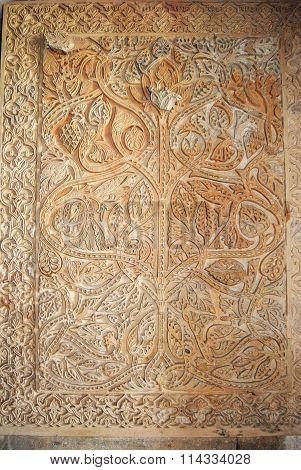 Wall detail, Medina Azahara.