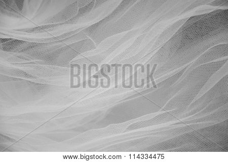 Abstract white and black veil background
