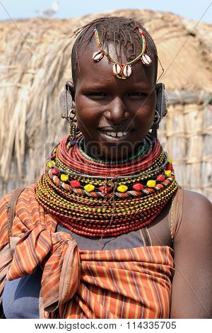 Tribal People From Africa, Kenya