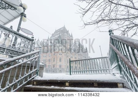 Quebec City Chateau Frontenac