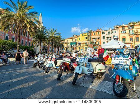 Vintage Vespa Italian Scooters