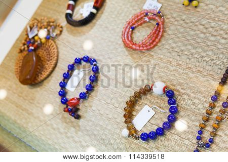 Chinese Amulets And Bracelets Made Of Stones