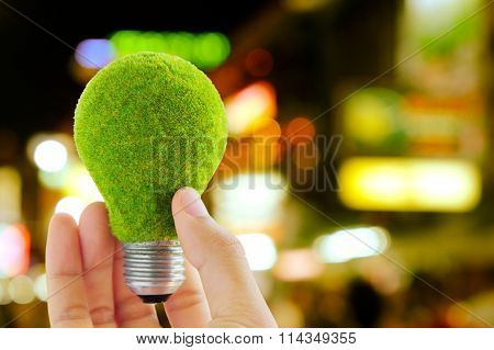 Electricity and energy concept