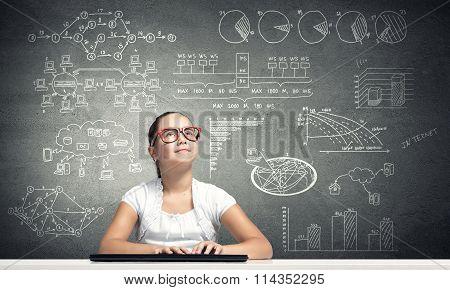 Little school genius