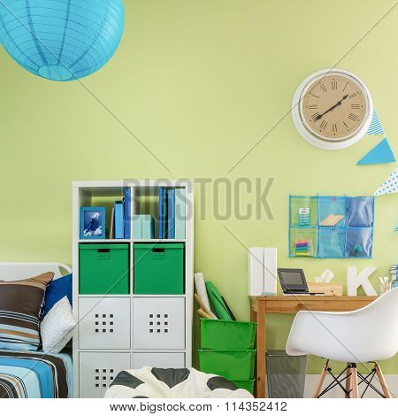 Functional Cosy Room For Schoolchild