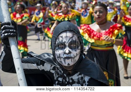 Carnival of Barranquilla in Colombia.