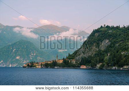 Como lake, Alps, Italy.