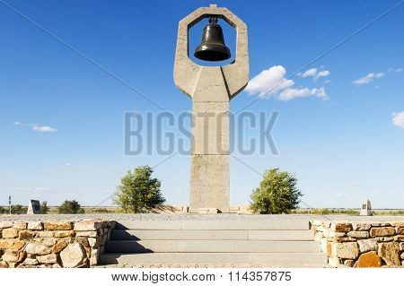 Monument The Grieving Mother On Rossoshka Cemetery. Volgograd, Russia