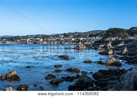 Pacific Grove coast, Monterey, California