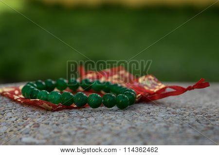 round jade bracelet