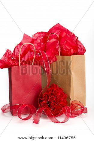 Valentine Paperbag Presents