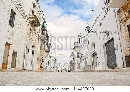 Alley Of Cisternino (italy)