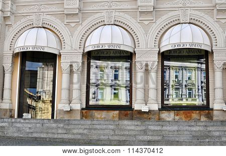 Giorgio Armani Flagship Store