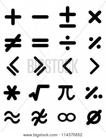 maths icons