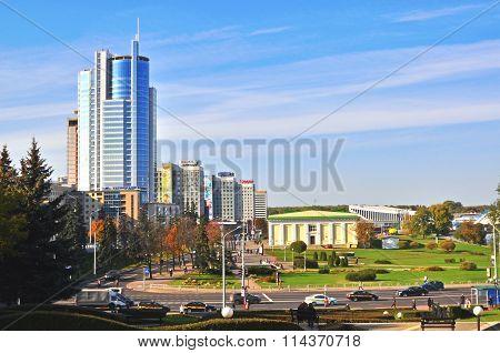 Minsk City Centre, Belarus