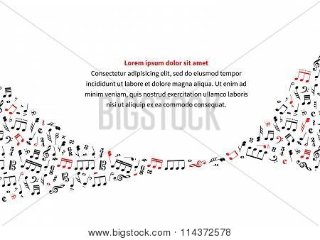 a4 size horizontal music background template