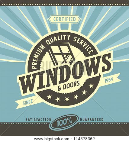 Windows and doors retail and service