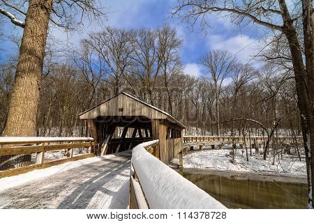 Snowy Covered Bridge Trail