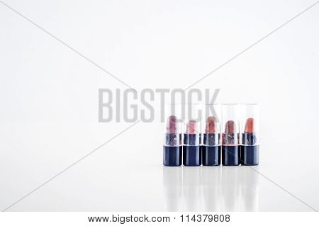 Small Lipstick Testers From Different Range Of Colors