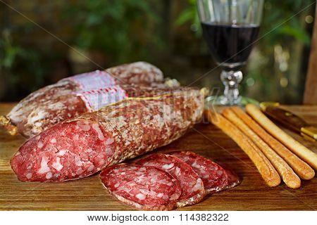 artisan salami