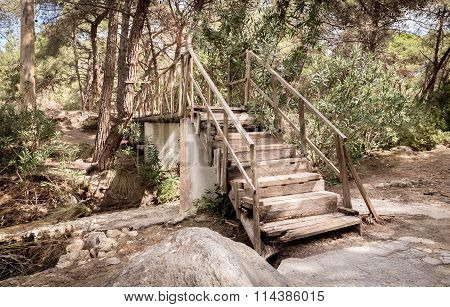 Old Weathered Stairway