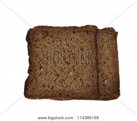 100% Organic rye bread with whole grain