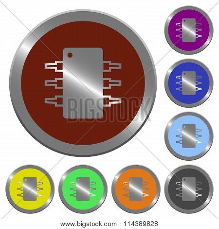 Integrated Circuit Buttons