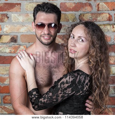 Sexy Young Couple Portrait