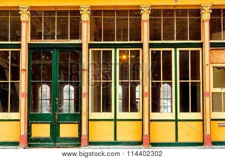 Empty Vintage Building