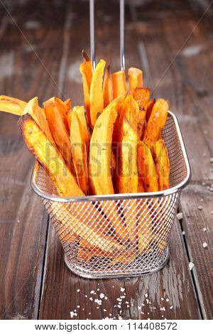 fried sweet potato