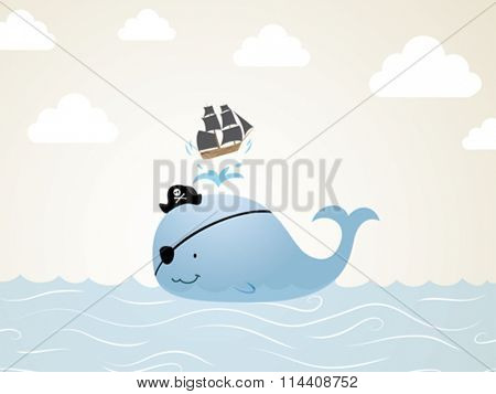 Pirate Whale