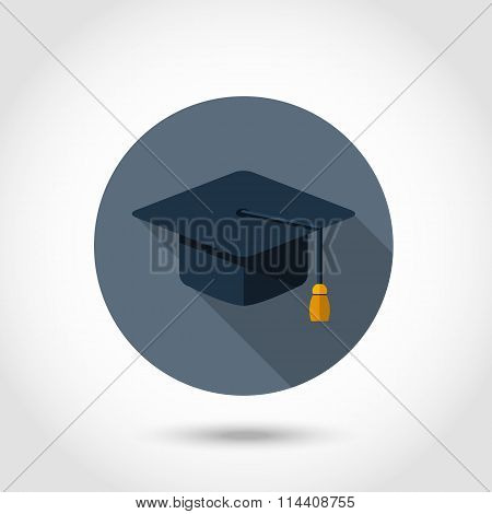 Vector cap flat icon