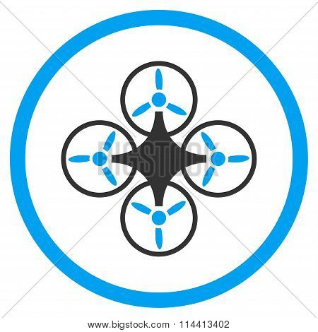 Airdrone Flat Icon