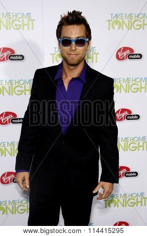 Lance Bass at the Los Angeles Premiere of