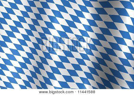 Bayern-Deutschland-Flagge