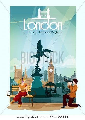 London Poster Illustration
