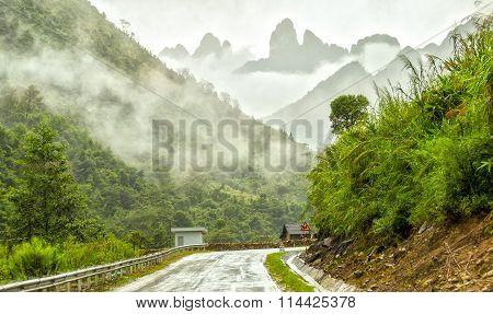 The road to Sapa, Lao Cai, Viet Nam