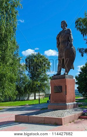 The Monument To Alexander Nevsky, Vladimir, Russia