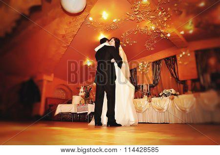 First Wedding Dance Of Wedding Couple