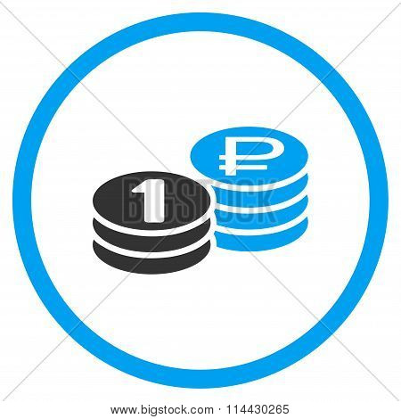 Rouble Coin Stacks Icon