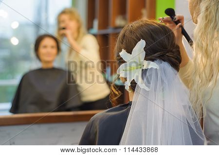 Beautiful Hairstyle Bride