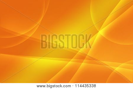 Orange Tint Abstract Wavy Background