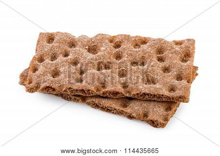 Crispbread Isolated on White