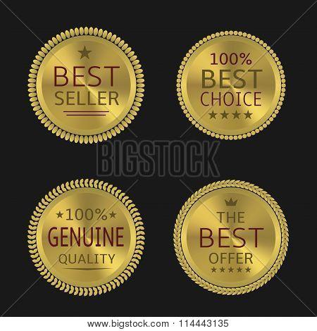 Golden label set