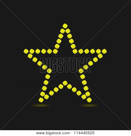 Violent yellow star