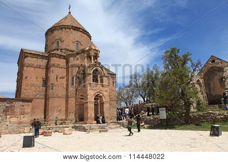 Akhtamar Church in Lake Van