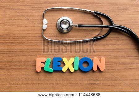 Flexion Colorful Word